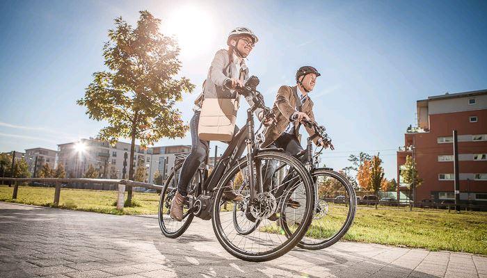 E-Bike Probefahrten Radmarkt Schumacher in Köln